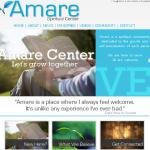 Amare Spiritual Center Site Design