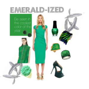 Emerald Options: Environmentally Conscious Style in Pantone's 2013 Color of the Year | Ilena Banks