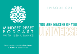 Mindset Reset Podcast with Ilena Banks Episode 021 Tony Hsieh: You Create Your Universe