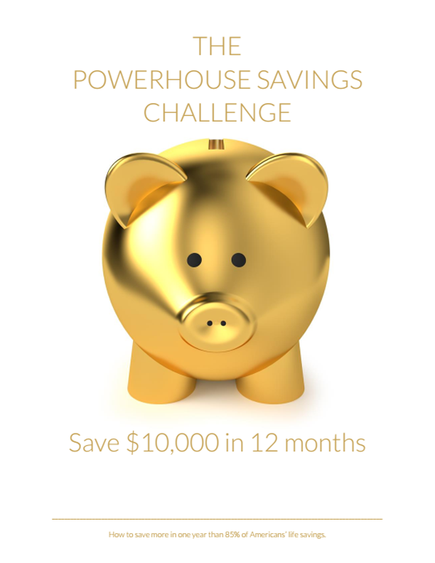 2017 Savings Challenge: Save $5-10,000 in 12 months