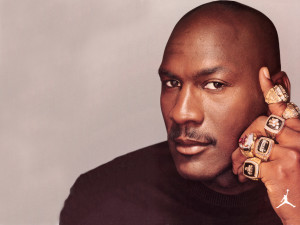 6-time NBA Champion, Michael Jordan