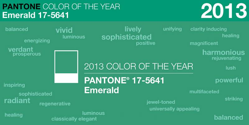 The Pantone Color of the Year: Emerald | Ilena Banks